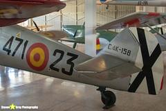 C.4K-158-471-23---226---Spanish-Air-Force---Hispano-HA-1112-M1L-Buchon---Madrid---181007---Steven-Gray---IMG_2178-watermarked