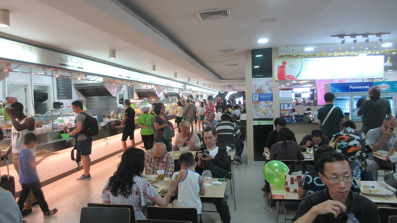 MBK food court Bangkok