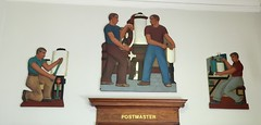 Paulsboro NJ Post Office Reliefs