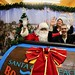 Holiday posing with Santa by daveynin