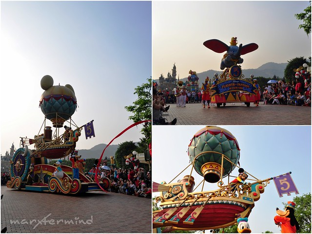 Flights of Fantasy Hong Kong Disneyland