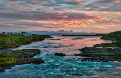 A Serene Moment in Iceland