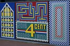 Tegeltjes... #2019#assen#tiles#street#streetart#streetphotography#city#cityphotography#urban#photooftheday#love#photography#see#walk#explore#world#wanderer#wanderlust#colours#colourful#design#art#post#4cent#cityview#walltiles#colourpop#wall#loveit