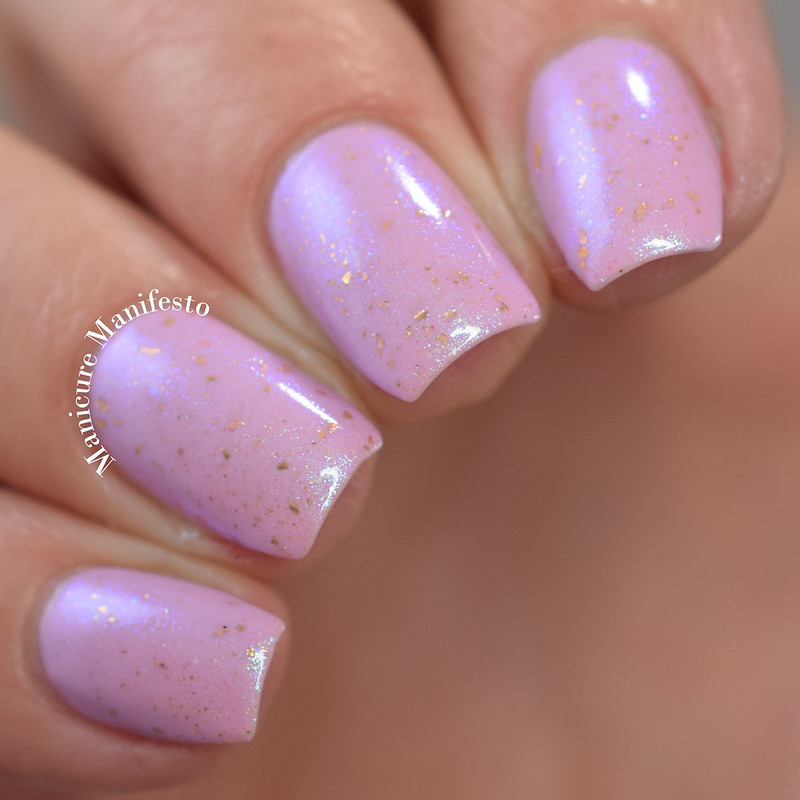 Blush Lacquers Lilac Dawn Review