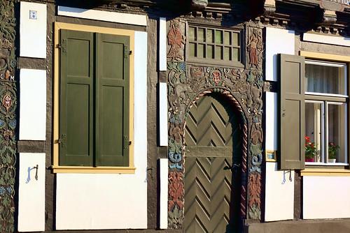 A very old door