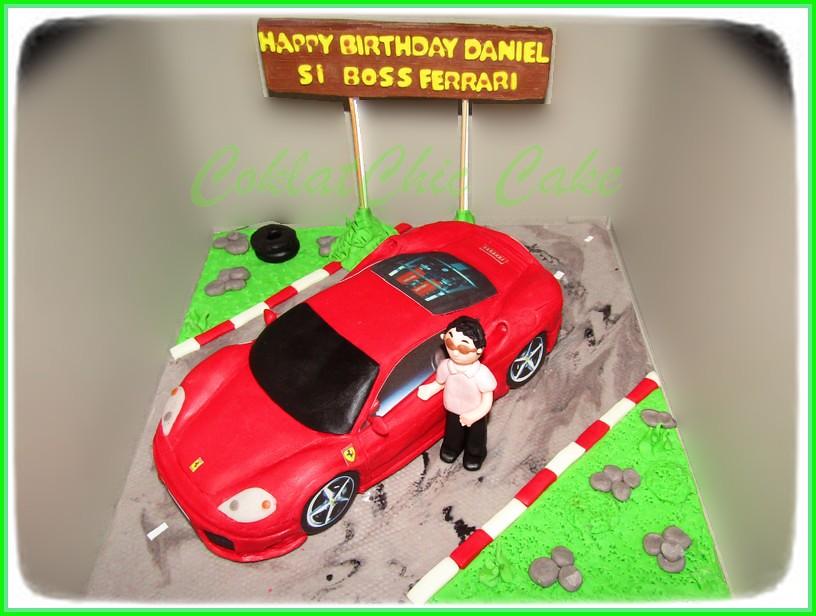 Cake Ferrari F360 DANIEL 24 cm