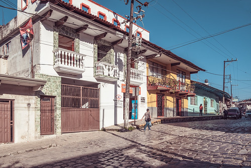 street scene, Cuetzalán