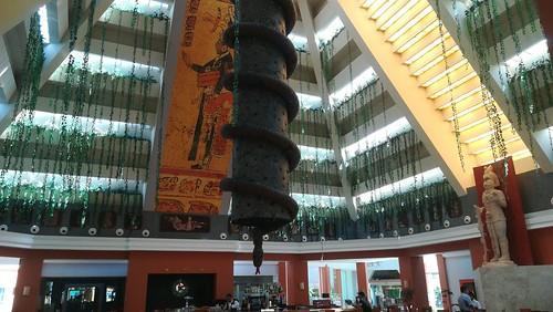 ein Hotel südlich Cancun