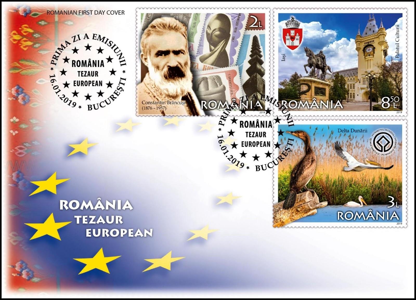 Romania - A European Treasure (January 16, 2019) first day cover #2