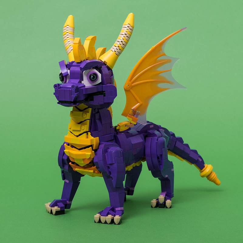 "Spyro LEGO (from ""Spyro the Dragon"")"