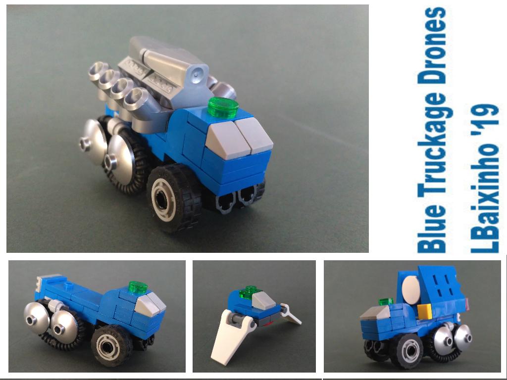 Blue Truckage Drones