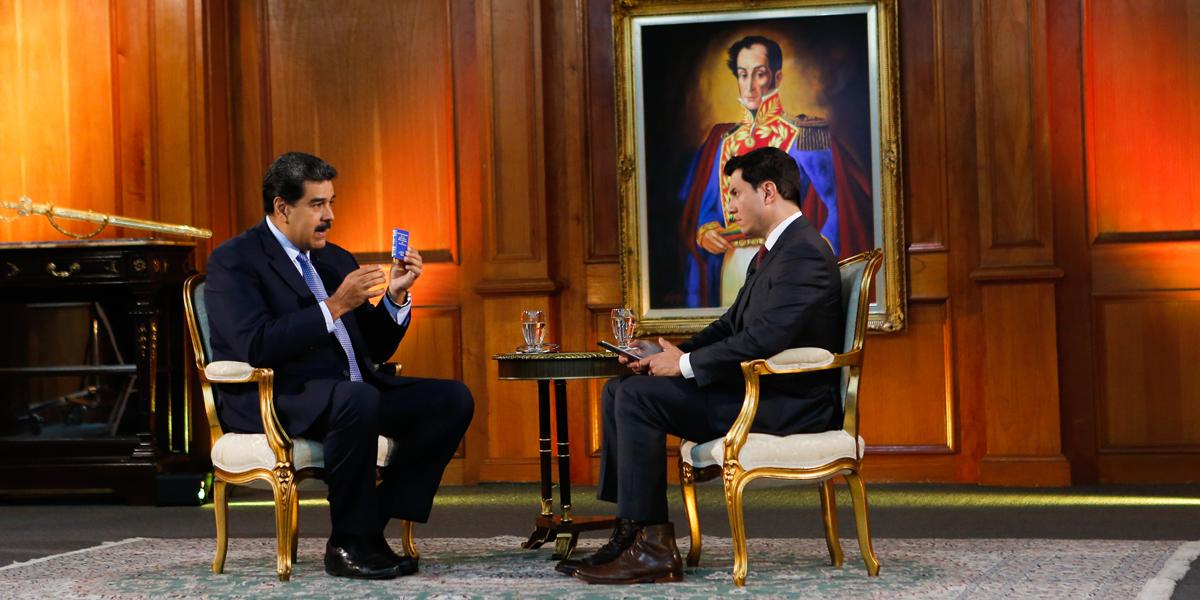 Maduro en entrevista a ABC News: EEUU quiere el petróleo de Venezuela y está dispuesto a ir a la guerra