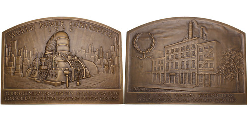 World Power Conference Bronze Plaque