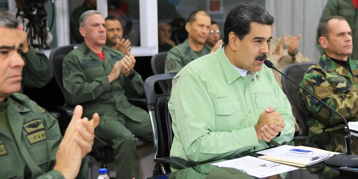 Presidente Nicolas Maduro Video Conferencia Ceofanb