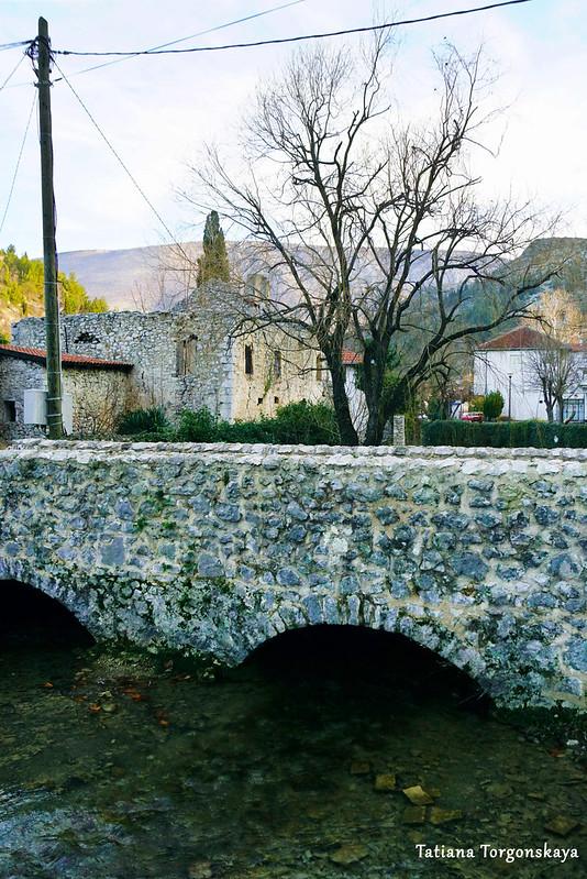 Каменный мост на реке Брегава