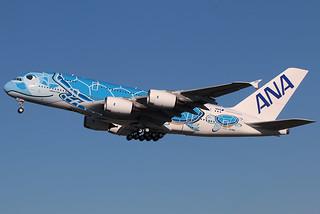 Airbus A380-841, ANA