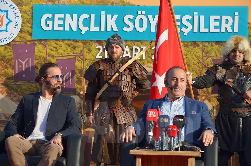 Engin Altan Düzyatan, Mevlüt Çavuşoğlu