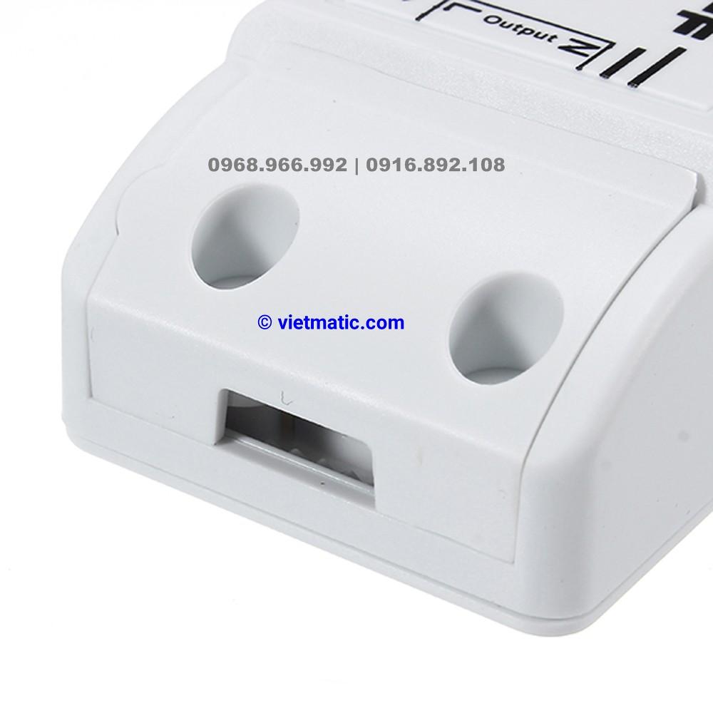 Bộ công tắc điều khiển thông minh chuẩn Wifi, 1 kênh Sonoff 6