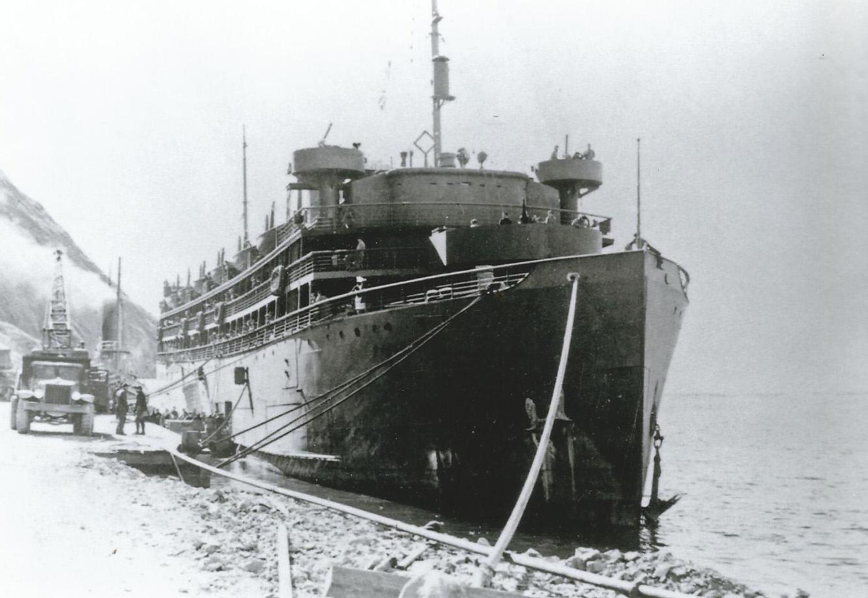 S.S. Dorchester, circa 1942