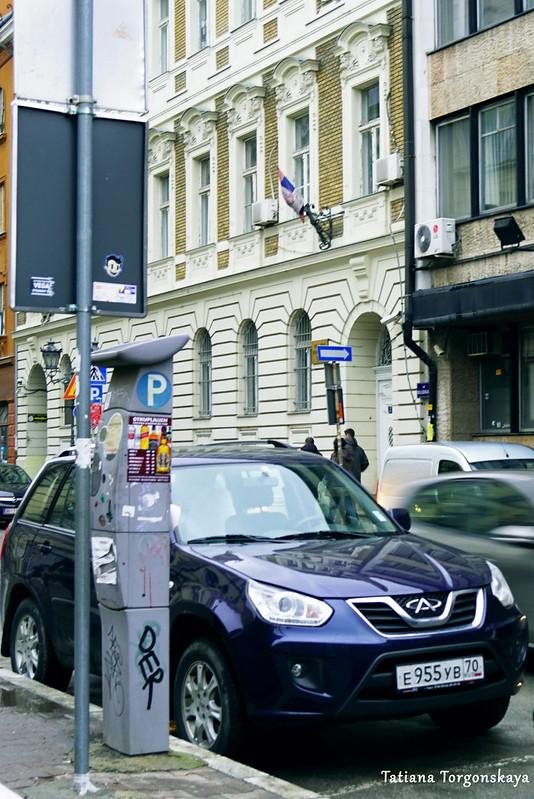 Паркомат на улице