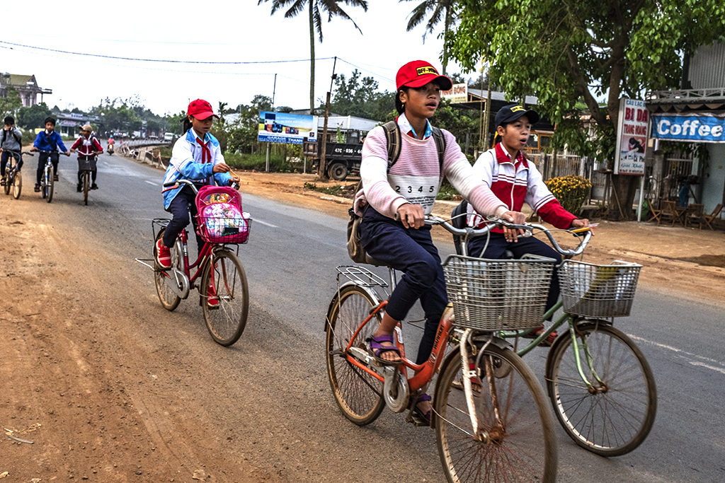 Girls going to school on 2-27-19--Ea Kly 2