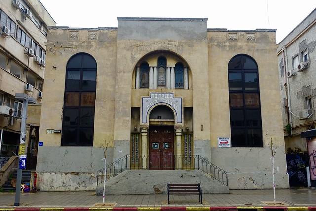 Moshav Zkenim synagogue, 89 Allenby, Tel-Aviv