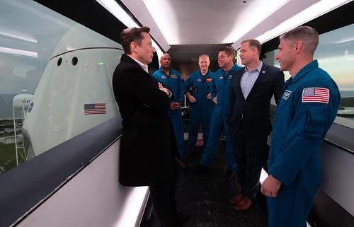 SpaceX Demo-1 Preflight (NHQ201903010018)