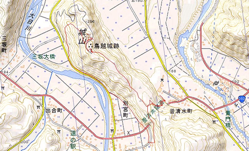 DATA of around Mt. TORIGOEJOUYAMA