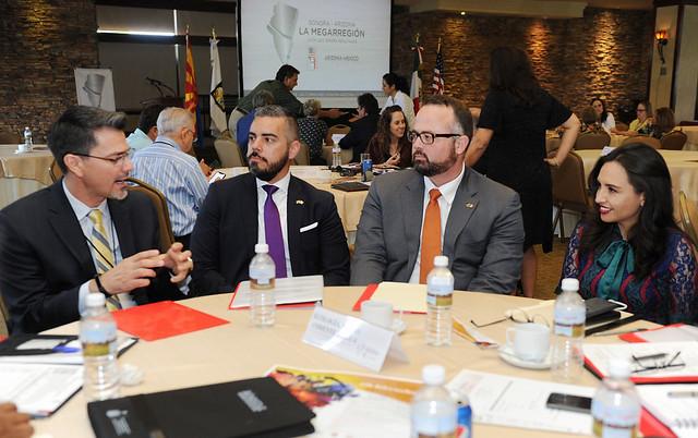 Reunión Interplenaria Comisión Sonora-Arizona Hmo Son 2018