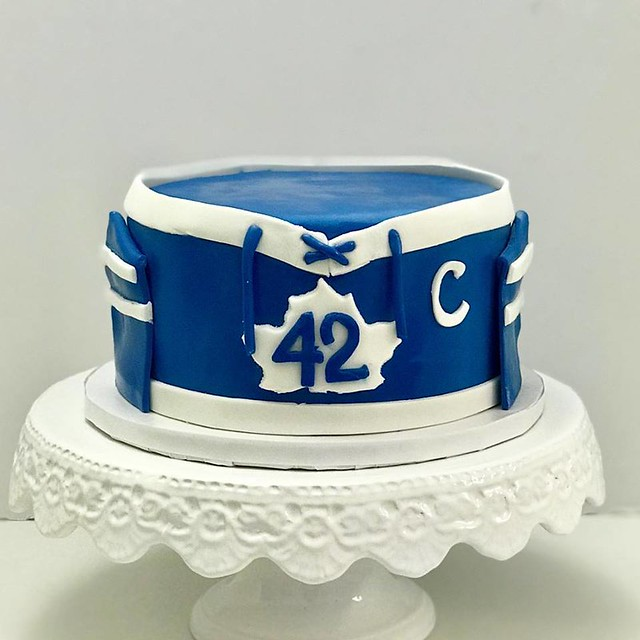 For a Maple Leaf Fan from Desserts by Christina