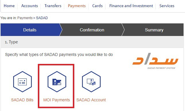 3599 How to pay the dependent fee 02