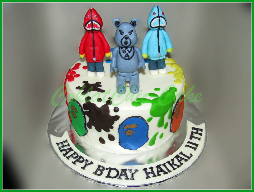 Cake Bathing Ape HAIKAL 15 cm