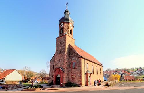 Kleinblankenbach Filialkirche St.Kilian und St.Bonifatius