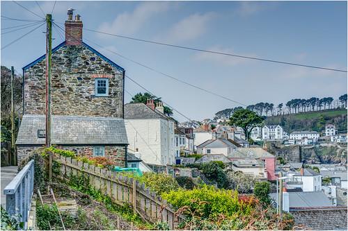 'Down The Line' - Polruan, Fowey Estuary, Cornwall.