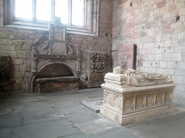 Jedburgh Abbey, Tomb