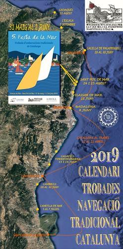 Calendari oficial de Trobades de Vela llatina 2019