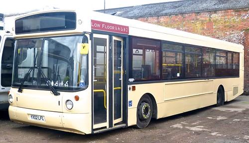YX02 LFL 'Fairway Travel'. MAN 18.220 / Alexander ALX 300 on Dennis Basford's railsroadsrunways.blogspot.co.uk'