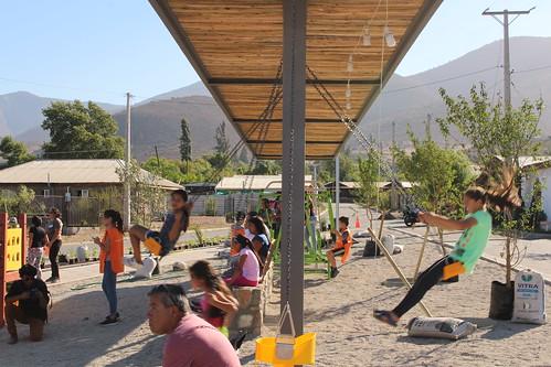 Plaza Verde Esperanza | Villa Jardín | Tahuinco | Minera Los Pelambres