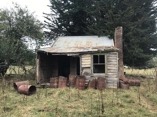 Abandoned abode, Temuka NZ