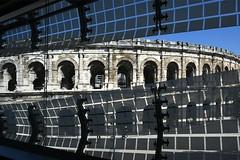 Nîmes, Musée de la Romanité, Arènes de Nîmes