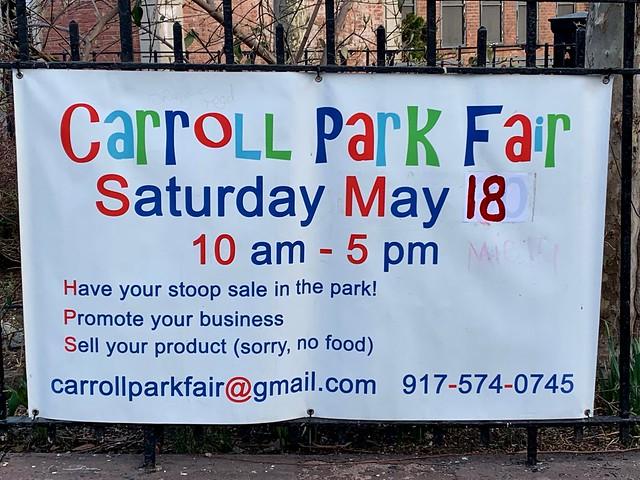 Spring News From Carroll Park In Carroll Gardens