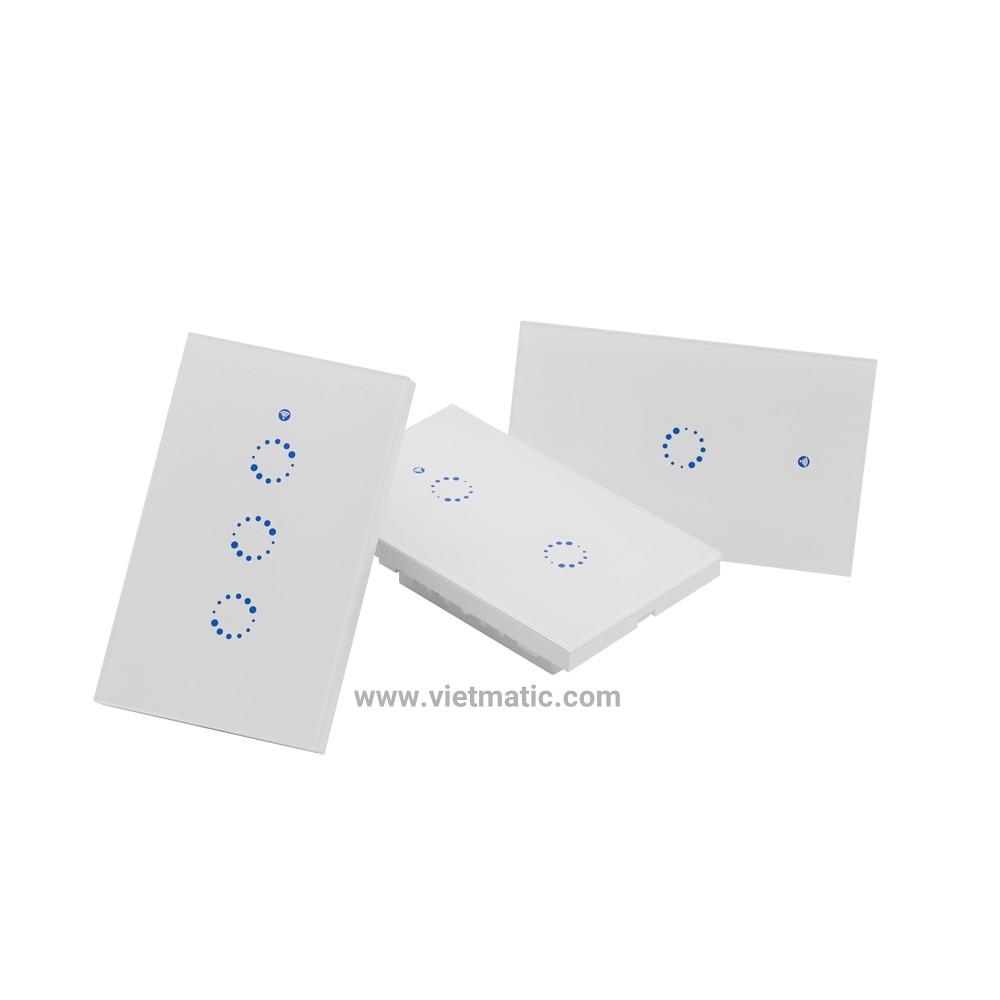 Công tắc cảm ứng âm tường SONOFF® - Điều khiển qua Wifi, Remote RF
