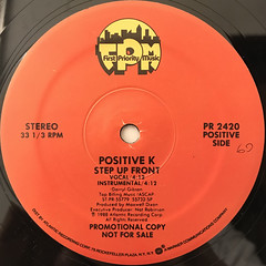 POSITIVE K:STEP UP FRONT(LABEL SIDE-A)