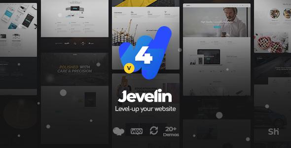 Jevelin v4.1.4 - Multi-Purpose Premium Responsive WordPress Theme