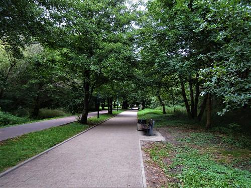 President Ronald Reagan Park in Gdansk, Poland