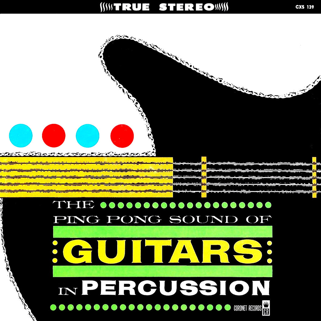Eddie Wayne - The Ping Pong Sound of Guitars in Percussion