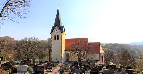 Krombach Pfarrkirche St.Lambertus und St.Sebastian