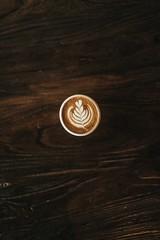 cappuccino latte art - Credit to https://myfriendscoffee.com/