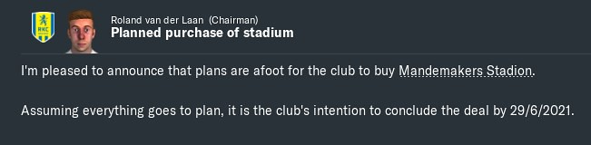 2021 buy stadium