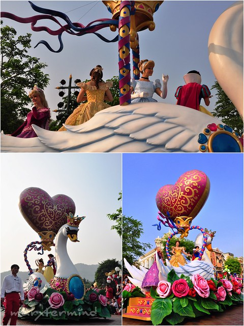 Disney Princesses at Hong Kong Disneyland